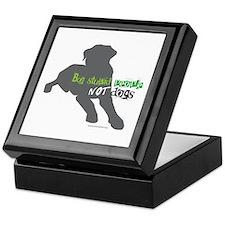 Cute Pittie Keepsake Box