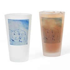 Arctic Family 2 Drinking Glass