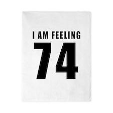I am feeling 74 Twin Duvet
