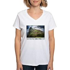 I survived the Machu Picchu T Ash Grey T-Shirt