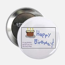 """Lousy Birthday 2.25"""" Button (10 pack)"""