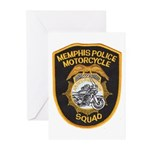 Memphis Motor Police Greeting Cards (Pk of 10)