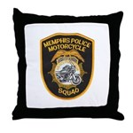 Memphis Motor Police Throw Pillow
