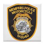 Memphis Motor Police Tile Coaster