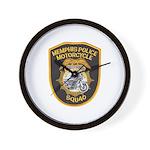 Memphis Motor Police Wall Clock
