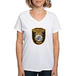 Memphis Motor Police Women's V-Neck T-Shirt