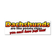 Cute Potato chip Car Magnet 10 x 3