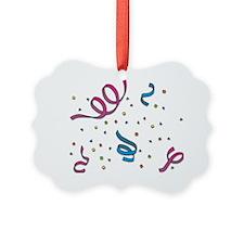 Confetti Fun Ornament