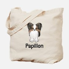 Papillon (word) Tote Bag