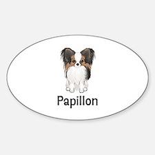Papillon (word) Decal