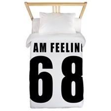 I am feeling 68 Twin Duvet