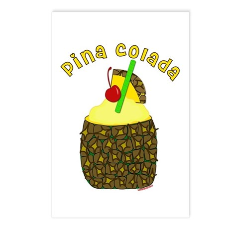 Pina Colada Postcards (Package of 8)