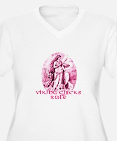 Viking Chicks Rule T-Shirt