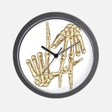 L.A to the Bone Los Angeles Wall Clock