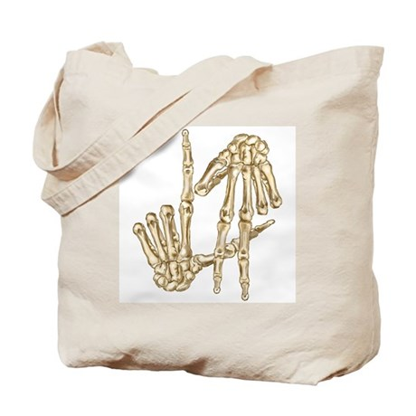 L.A to the Bone Los Angeles Tote Bag