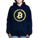 Bitcoin Logo Yellow 1000 Hooded Sweatshirt