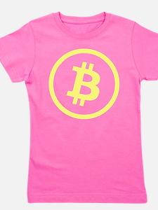 Bitcoin Logo Yellow 1000 Girl's Tee
