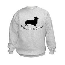 welsh corgi dog Sweatshirt