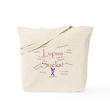 Lupus Sucks Tote Bag