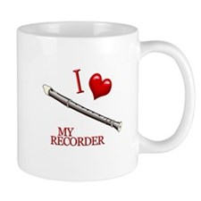 I Love My RECORDER Mug