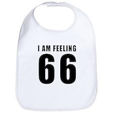 I am feeling 66 Bib