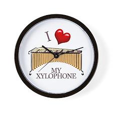 I Love My XYLOPHONE Wall Clock