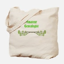 Amateur Genealogist Tote Bag