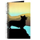 Welsh corgi Journals & Spiral Notebooks