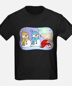 Star Trek Snowmen T-Shirt