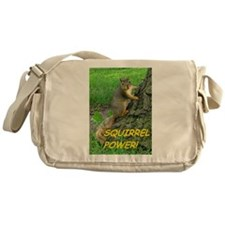 Squirrel Power! Messenger Bag