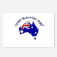 Great Barrier Reef, Australia Postcards (Package o