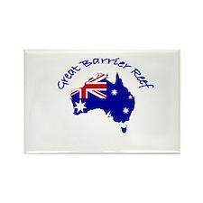 Great Barrier Reef, Australia Rectangle Magnet