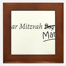 Funny Bar-Mitzvah B... Framed Tile