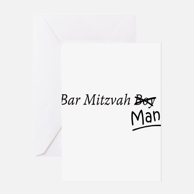 Funny Bar-Mitzvah B... Greeting Cards