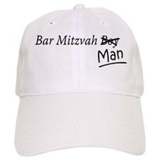 Funny Bar-Mitzvah B... Baseball Baseball Cap