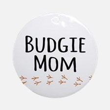 Budgie Mom Ornament (Round)