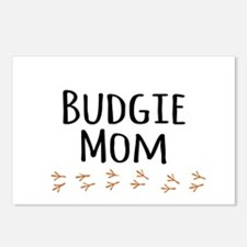 Budgie Mom Postcards (Package of 8)