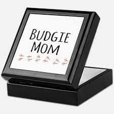 Budgie Mom Keepsake Box