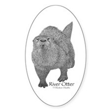 River Otter Decal