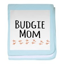 Budgie Mom baby blanket