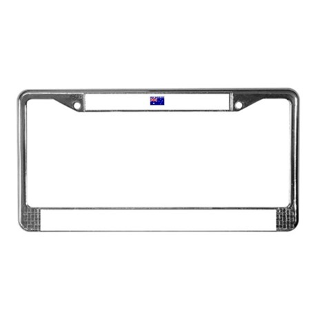 Great Barrier Reef, Australia License Plate Frame