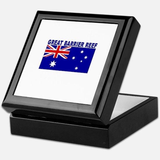 Great Barrier Reef, Australia Keepsake Box