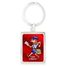 mailCarrierOrnWoman.png Keychains