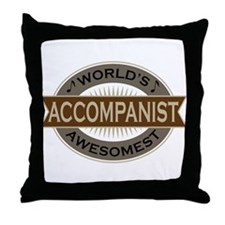 Awesome Accompanist Throw Pillow