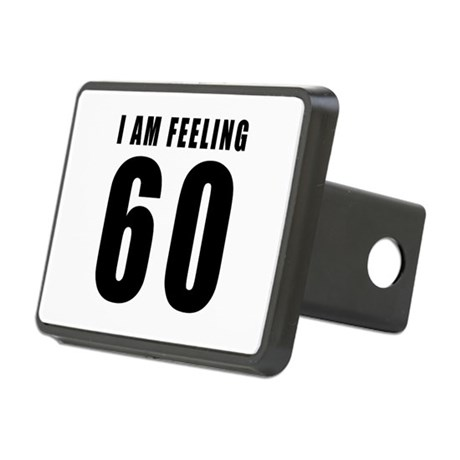 I am feeling 60 Rectangular Hitch Cover