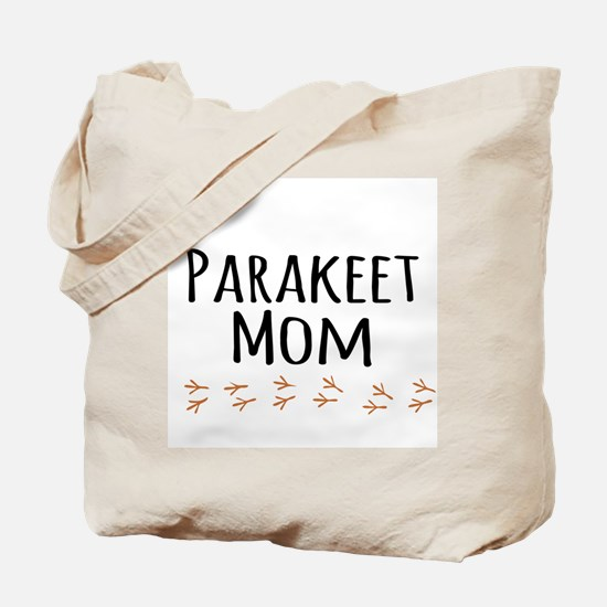 Parakeet Mom Tote Bag