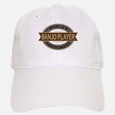 Awesome Banjo Player Baseball Baseball Cap