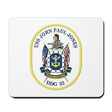 USS John Paul Jones (DDG-53) Mousepad