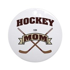 Hockey Mom Ornament (Round)