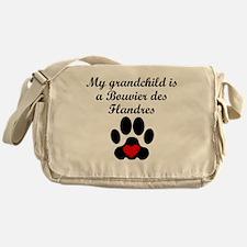 Bouvier des Flandres Grandchild Messenger Bag